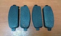Колодки тормозные задние Астра J, Зафира С, Круз, Орландо (16-ые диски) (POC J60)
