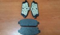 Колодки тормозные задние Астра J (15-ые диски), Мокка, Круз, Орландо (POC J67)