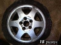 Диски колесные Астра G, Зафира А легкосплавные (комплект)