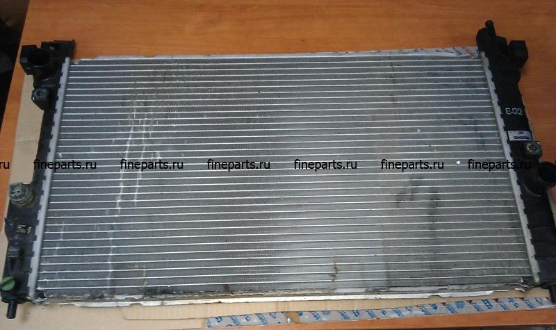 замена радиатора охлаждения опель омега б