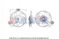 Вентилятор охлаждения Опель Инсигния 1.6Турбо (с резистором)