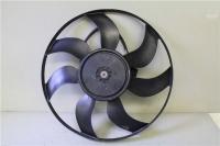 Вентилятор охлаждения Опель 1.4Турбо, 1.6Турбо, 2.0Турбо (с резистором)