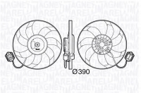Вентилятор охлаждения Опель Инсигния 1.6-1.8 (с резистором)