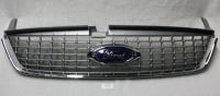 Решетка переднего бампера Форд Мондео (2007-2010), хромированная
