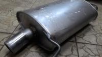 Глушитель Honda Accord VII 2.4 (2003-2008) седан, алюминизированная сталь R