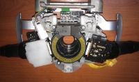 Модуль рулевой колонки Митсубиси Lancer 10, Outlander XL б/у
