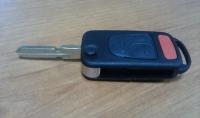 Ключ замка зажигания MERCEDES (заготовка, 3кн) W202, W203, C-Klasse, ML, S-Klass,  1993-2004