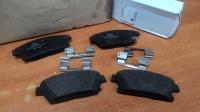 Колодки тормозные передние, Астра J, Зафира С, Мокка, Круз, Орландо (16-ые диски) (POC J60)
