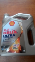 Масло моторное SHELL Helix Ultra professional AG 5W-30, Dexos-2, 4л.