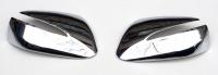 Накладки на боковые зеркала Hyundai SantaFe III (2012-) хром