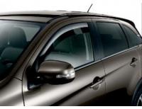 Дефлекторы передних стекол Mitsubishi ASX, Peugeot 4008, Citroen C4 Aircross