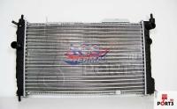 Радиатор охлаждения ASTRA F 1.6-2.0 (МКПП, с кондиционером)