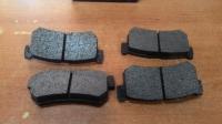 Колодки задние дисковые SsangYong Actyon, Kyron, Korando, Musso, Rexton       (для 5рычажной зад подвески)