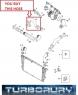 Патрубок турбины Опель Зафира Б 1.9Т (19CDTI)