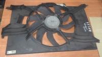 Вентилятор охлаждения Вектра С, Сигнум, 1.6-2.2, с кондиционером, в сборе