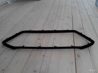 Облицовка решетки радиатора Митсубиши ASX (2013-) черная