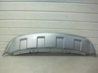 Накладка переднего бампера Ситроен C-Crosser (2007-2012) нижняя