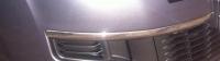 Молдинг переднего бампера Ситроен C-crosser (2007-2012) хром R
