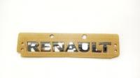Шильдик «Renault» Рено Каптюр (2016-), хром, задний