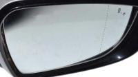 Зеркальный элемент Киа Сид (2015-) асферический, с обогревом, с индикатором слепой зоны, R