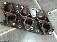 Проставка впускного коллектора V6 (X25XE, X30XE) тепловая б/у