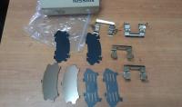Монтажный комплект суппорта NISSAN TEANA (08-), TIIDA (12-), JUKE (10-), ALTIMA