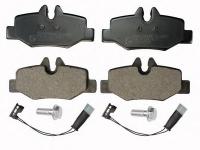 Колодки задние дисковые MERCEDES VIANO, VITO (W639) (03-)