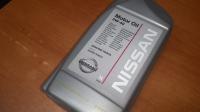 Масло моторное, синтетическое 5W-40, NISSAN, 1л.