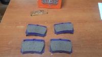 Колодки задние дисковые MITSUBISHI MONTERO SPORT 98-, Pajero, Pajero SPORT (2.5-3.0) 1998-2014