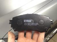 Колодки передние Мазда 6 2.0-2.5 (2012-)