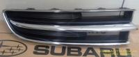 Решетка переднего бампера Субару Трибека (2006-), хром, R